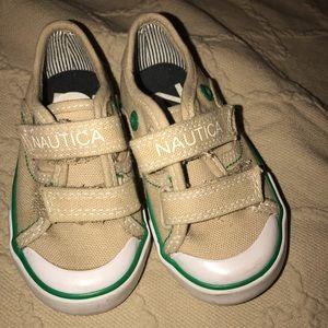 Nautical Baby  Sneakers sz 5